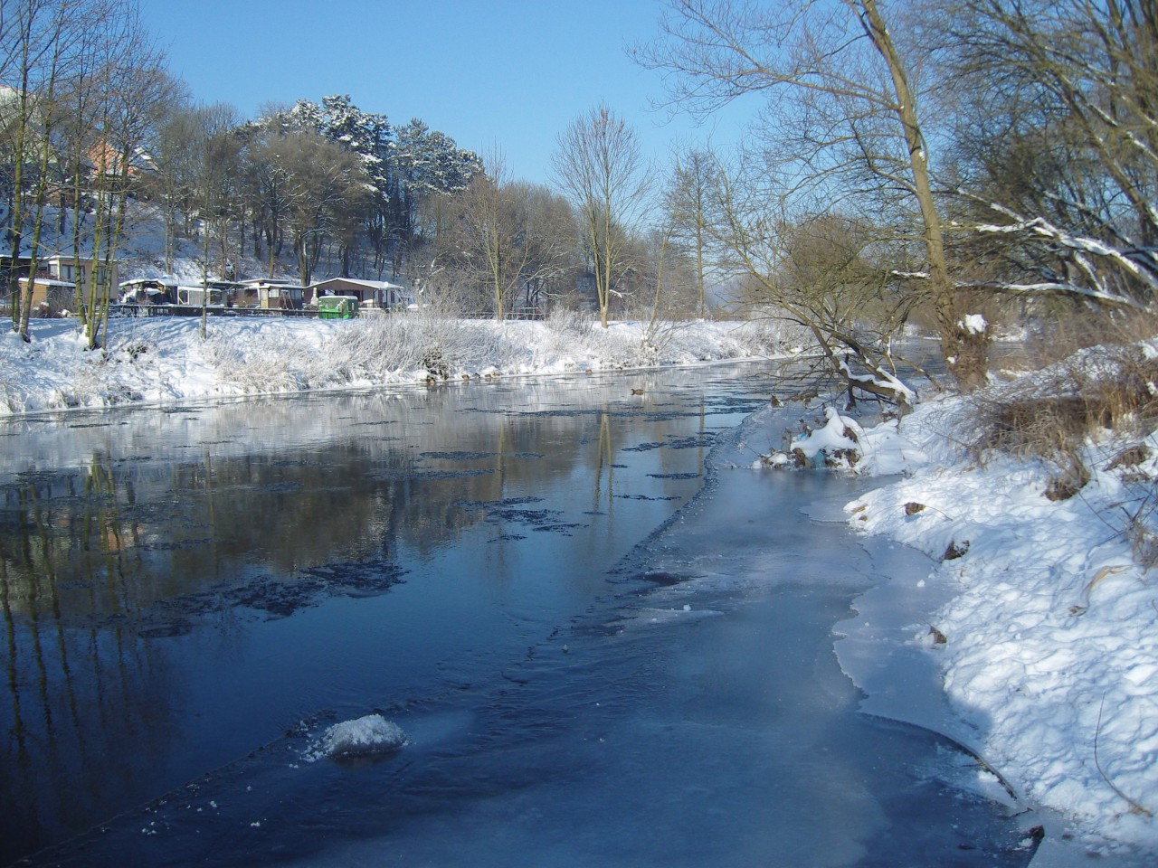 Winter in Meiningen